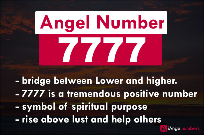 Angel Number 7777 Biblical Meaning