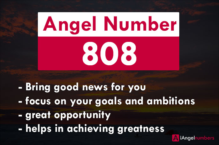 808 Meaning of Angel Number: Bible, Biblical, Love & Significance