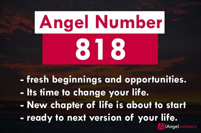 818 Angel Number Spiritual & Biblical Meaning, Twin Flames